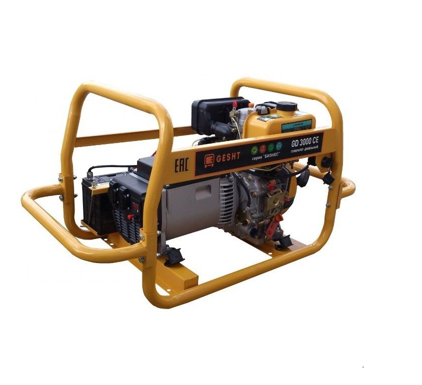 Дизельный генератор (электростанция) Gesht GD3000CE